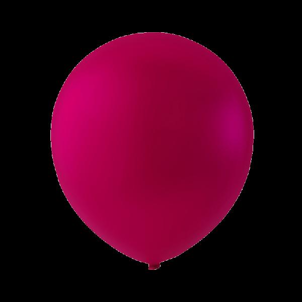 tummanpunainen ilmapallo