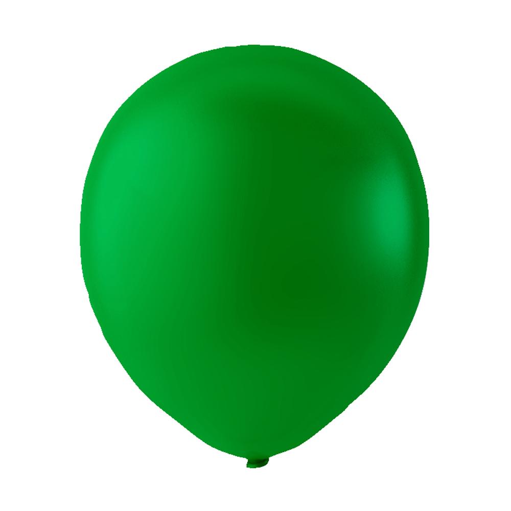 vihreä ilmapallo