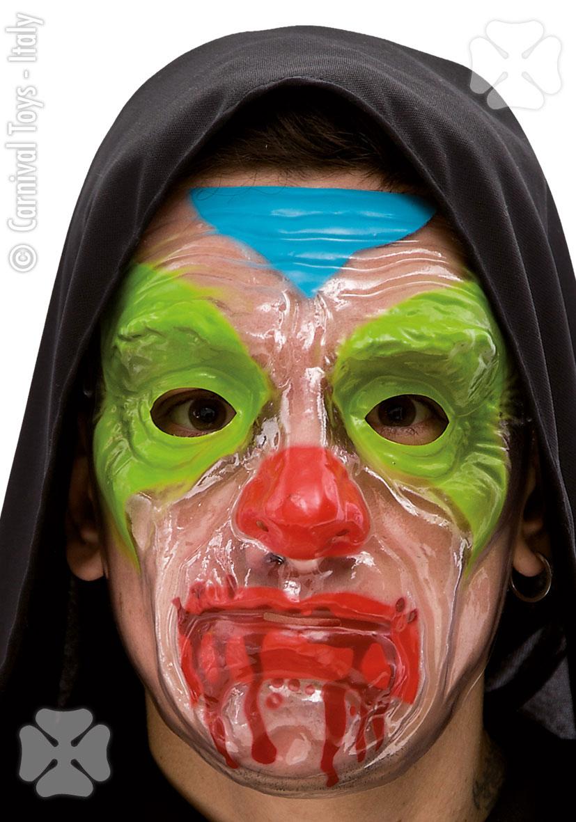 pelottava klovni naamari