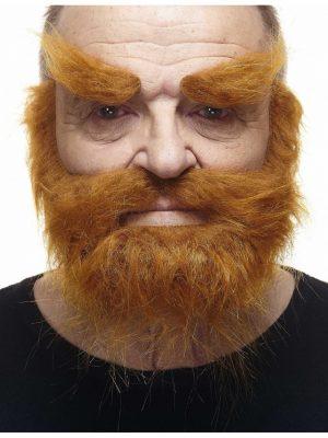 parta ja kulmakarvat