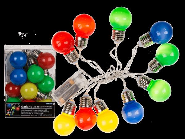 värilliset lamput