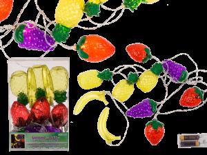 koristevalot hedelmät