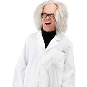 hullun tiedemiehen hiukset