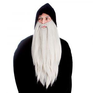 pitkä harmaa parta