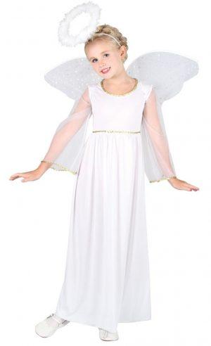 valkoinen enkeliasu