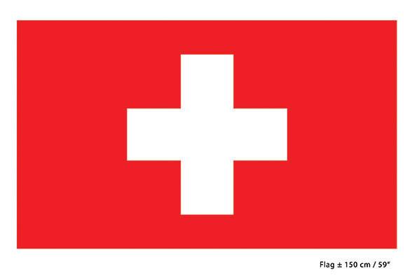 iso sveitsin lippu