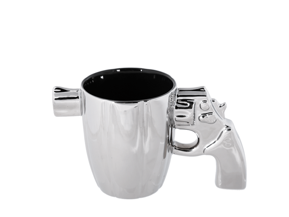 revolveri kahvikuppi