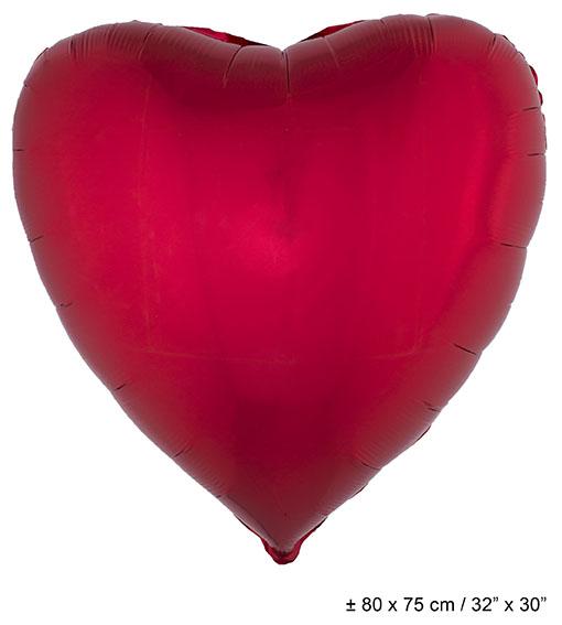 punaiset sydänilmapallot