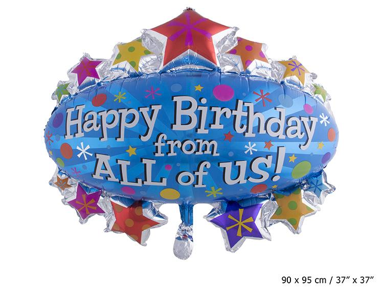 syntymäpäivä juhliin ilmapallot