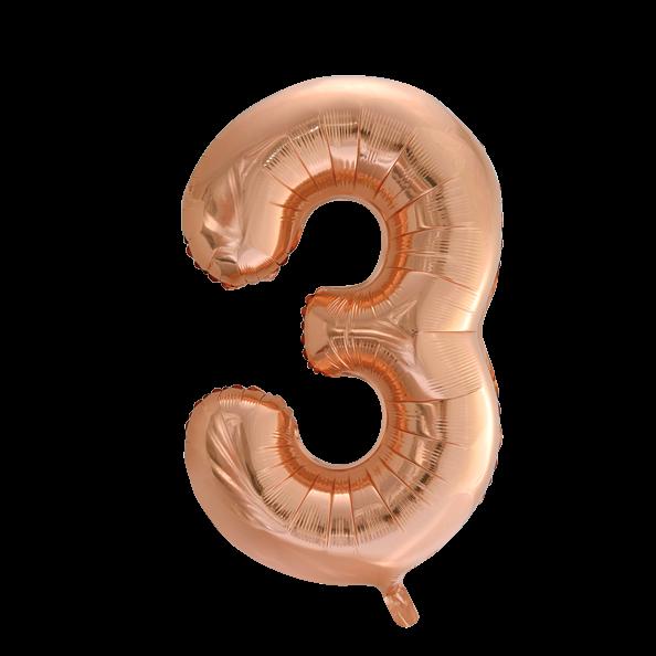 Numero foliopallo kolme