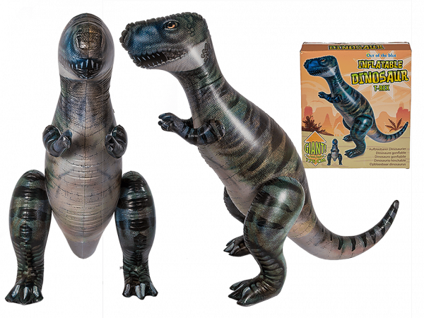 puhallettava dinosaurus