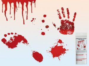 verisiä jälkiä