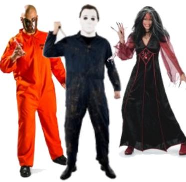 Halloween asut ja kauhu