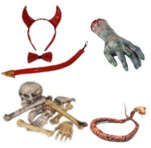 Kauhujuhlat ja Halloween koristeet