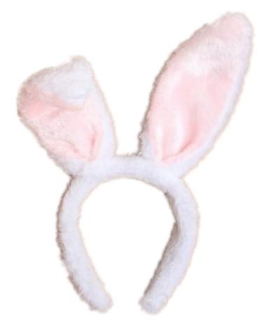 valkoiset kanin korvat