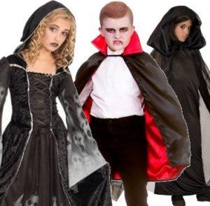 Lasten Halloween asut