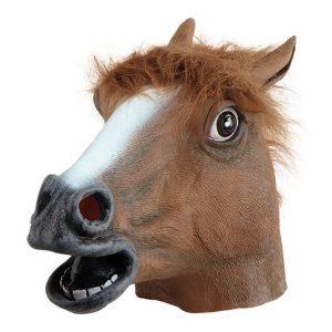 hevosen pää naamari