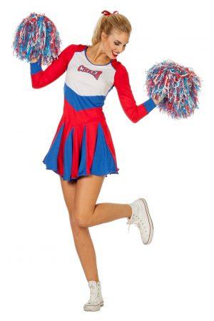 naisten cheerleader naamiaisasu