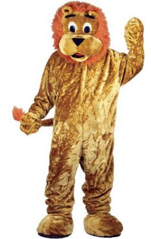maskotti leijona puku