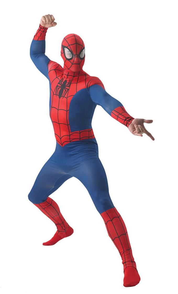 hämähäkkimies puku aikuisten