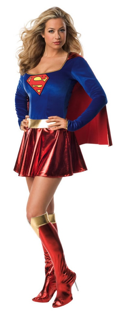supergirl puku naiselle