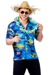 hawaiji paita sininen