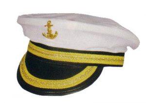 merikapteeni hattu
