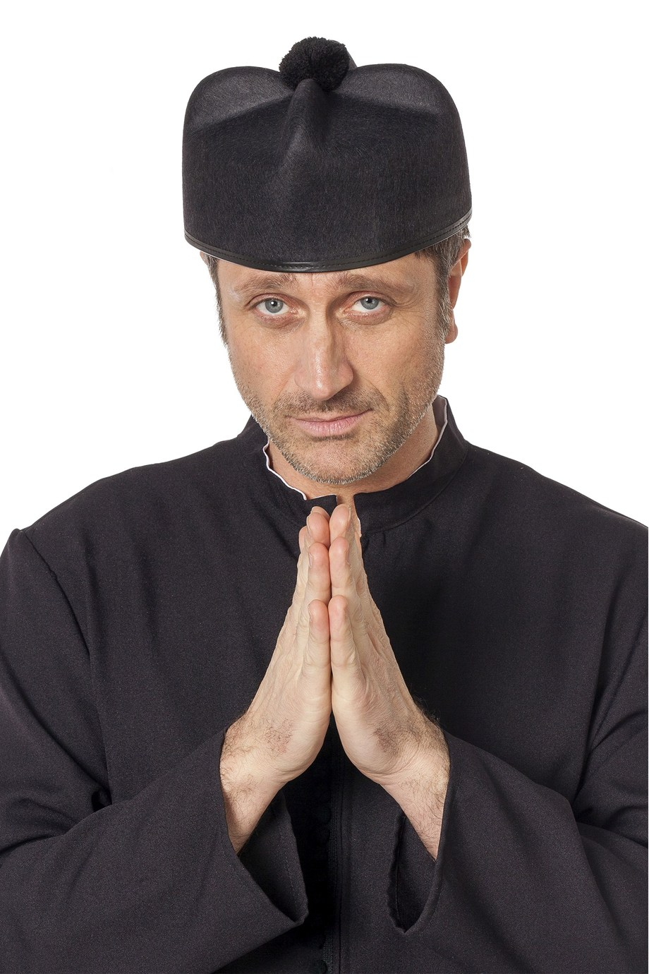 musta papin hattu