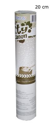 valkoista paperisilppua
