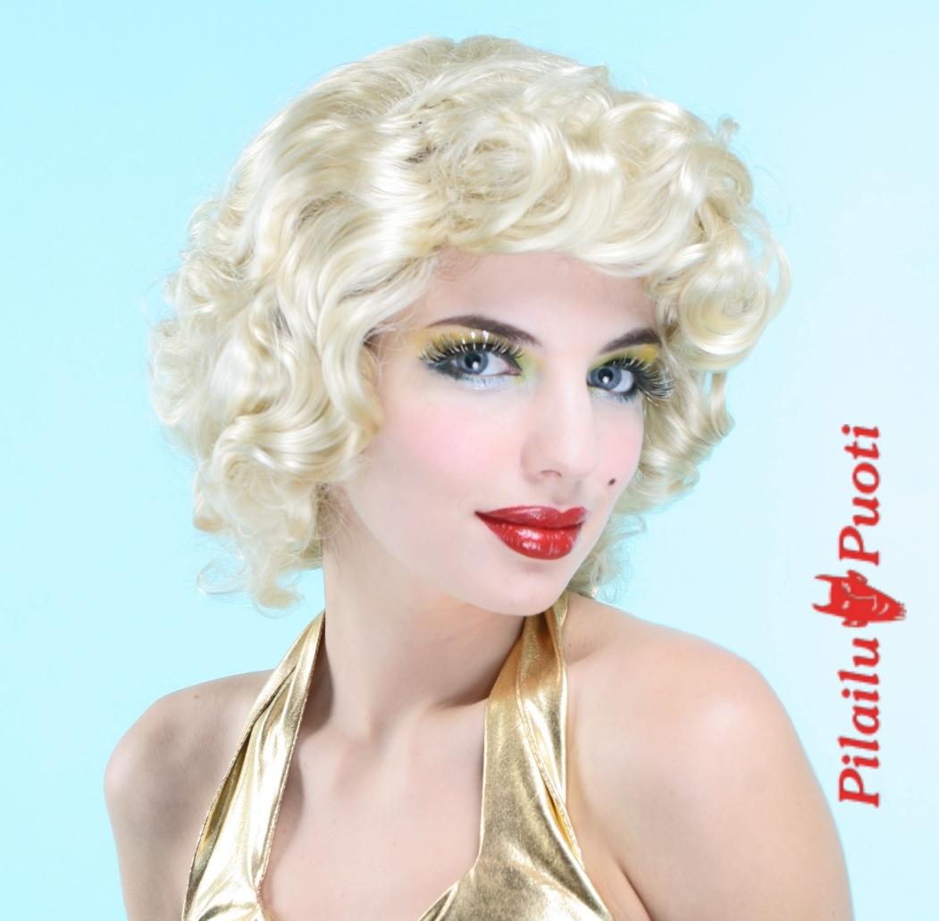 marilyn hiukset