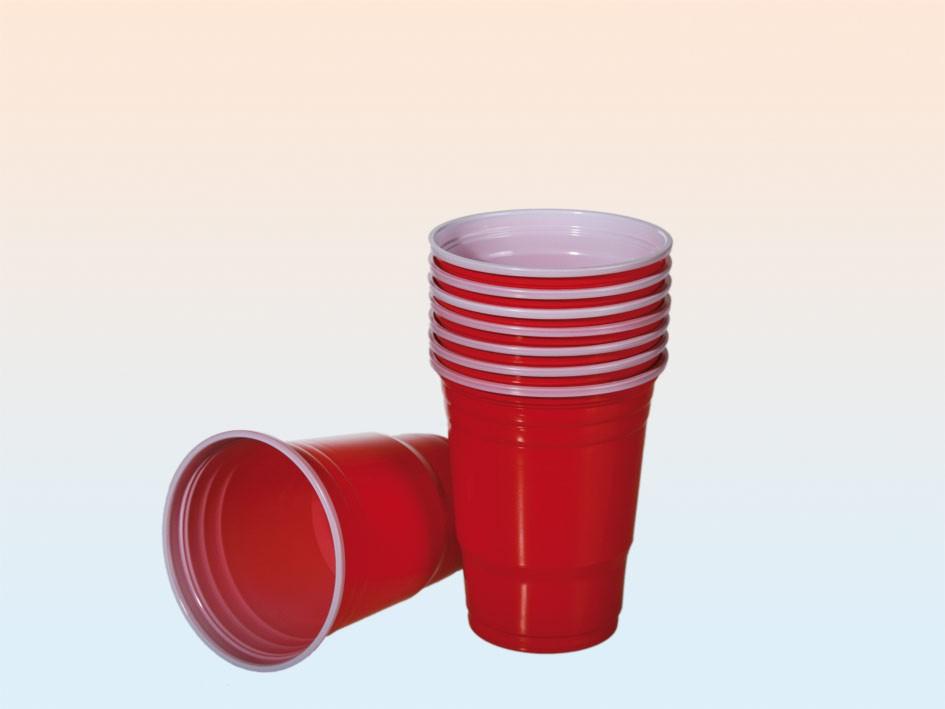 punaiset juomamukit