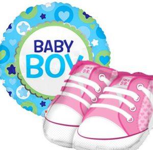 Vauvakutsut ja Baby Shower koristeet