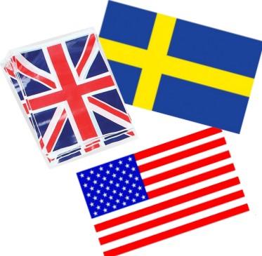 Eri maiden liput eli kansainväliset liput
