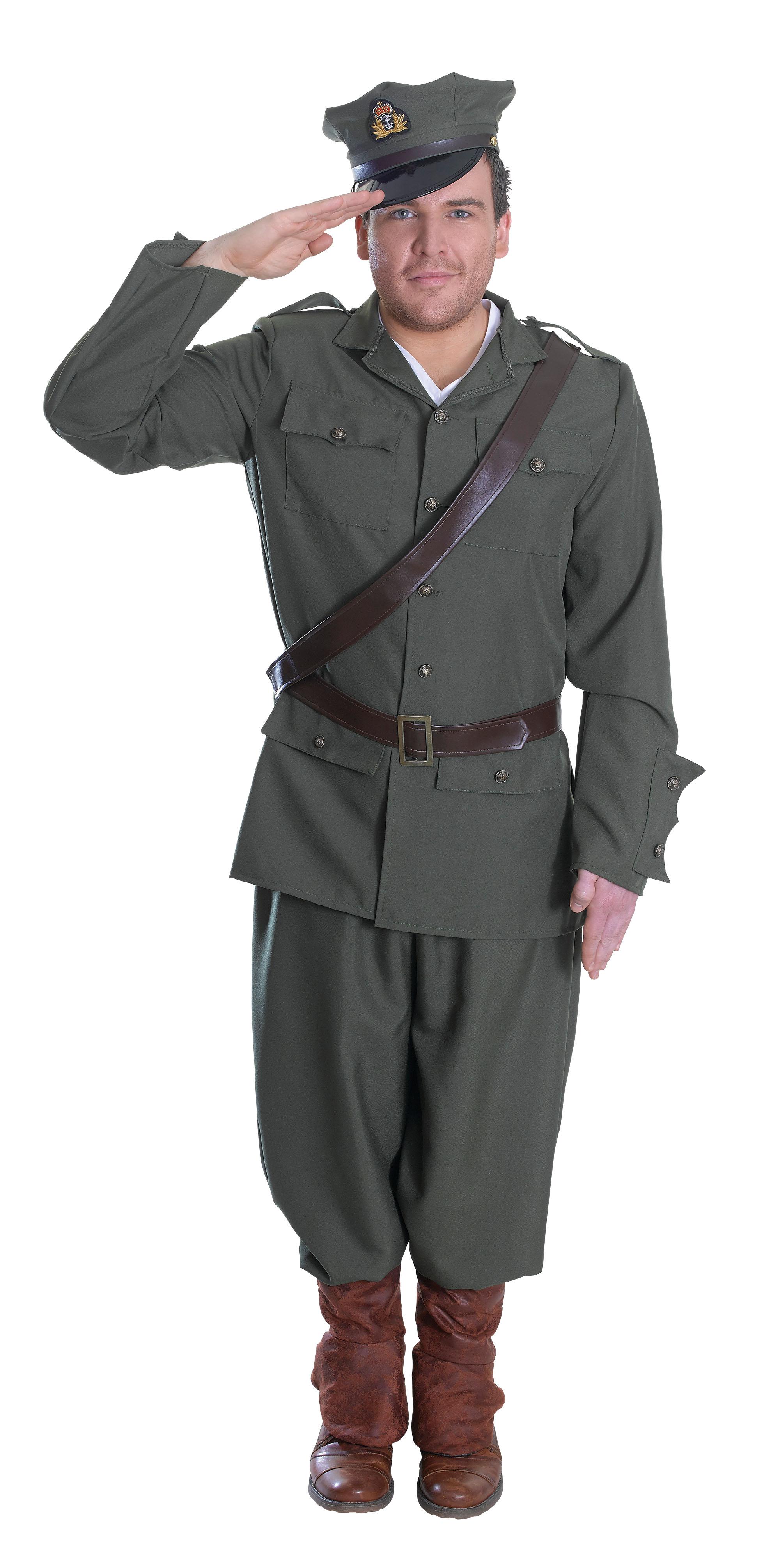sotilaan asu
