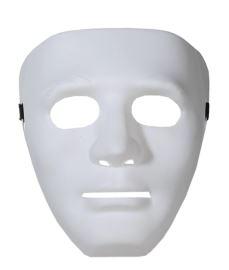 valkoinen murhaajan naamari